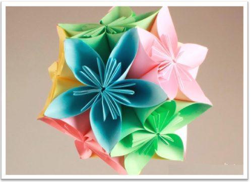 Esfera de flores aromática