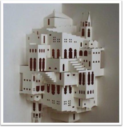 Kirigami arquitectónico