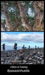 «Pasa sin huella», un grito para frenar el grave deterioro en el paisaje canario